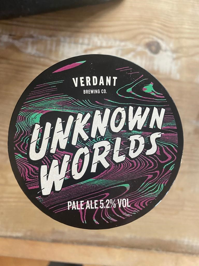 """2 Litre Tap Fill Verdant """"Unknown Worlds"""" 5.2 Pale"""
