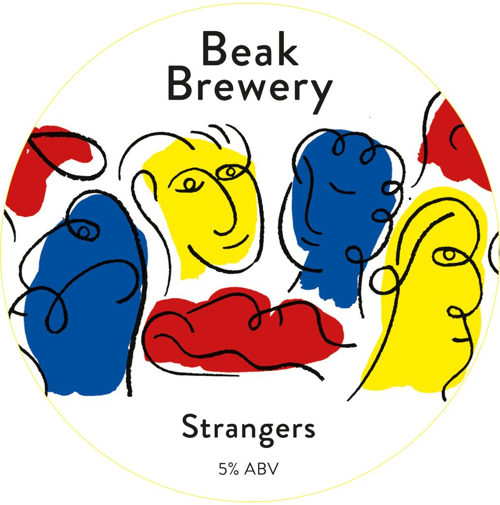 "2 Litre fill from the tap.  Beak Brewery""strangers"" 5% IPA"
