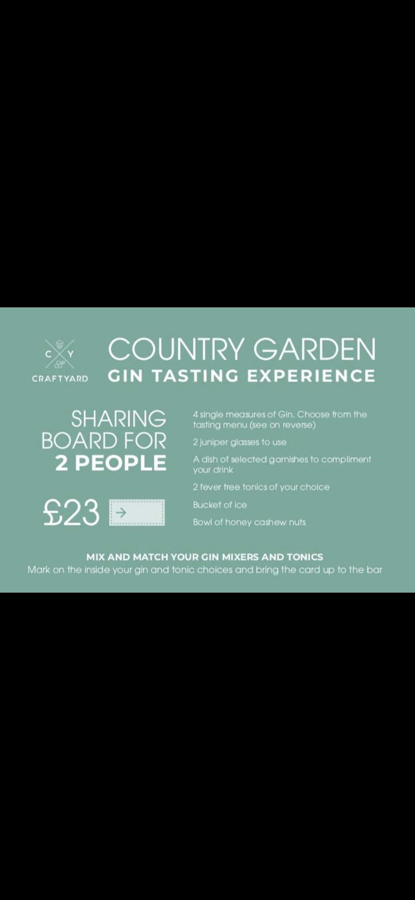 Gin Tasting Experience Voucher (2 Person)