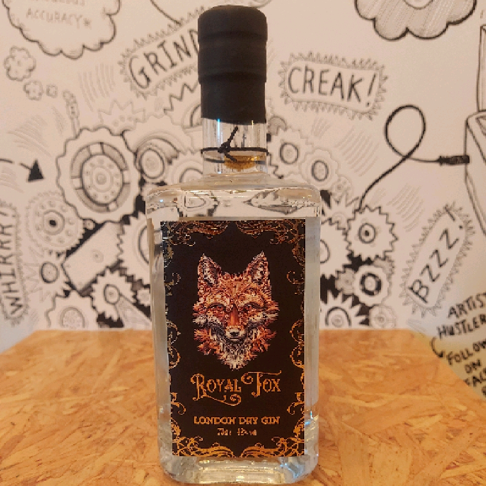 Royal Fox London Dry Gin 37.5%