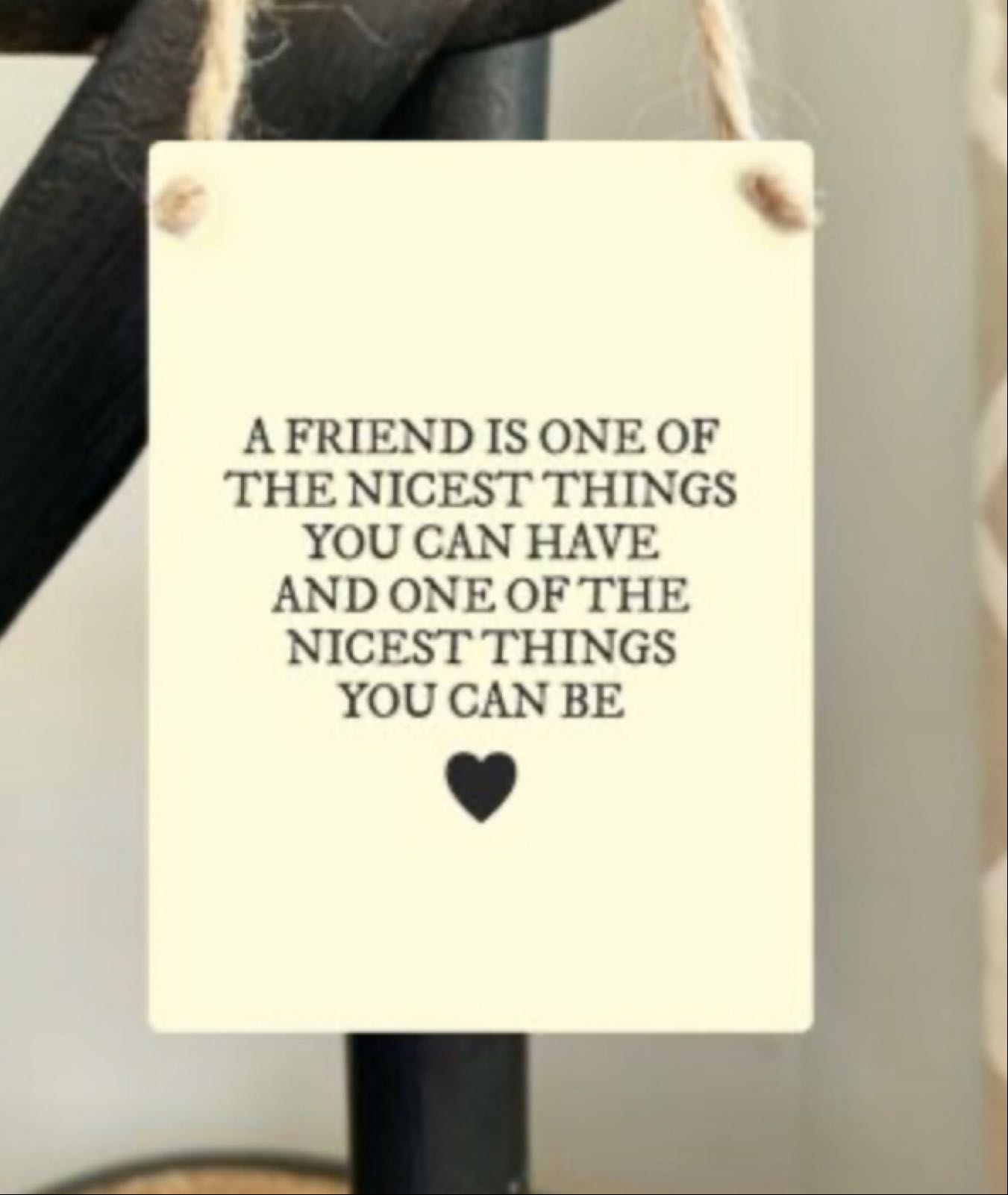 Good Friends Hanger