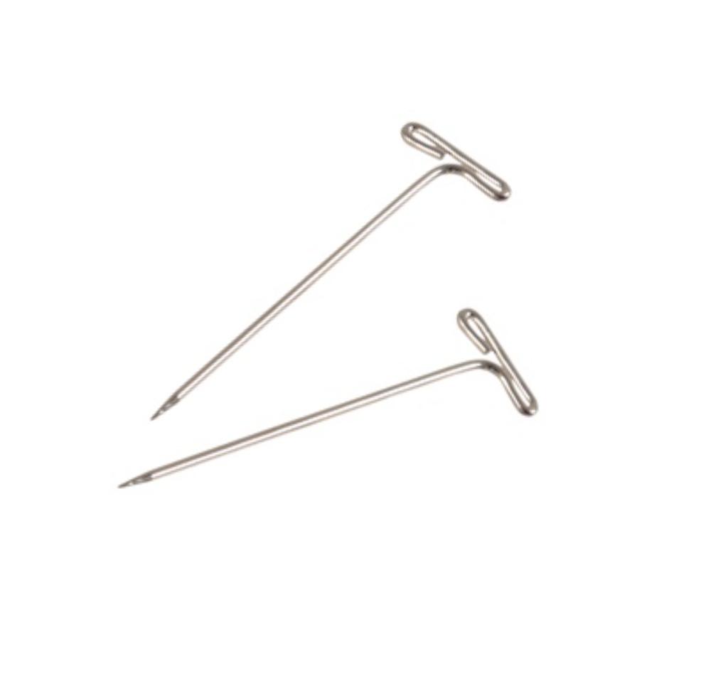 T-nålar för blockning 50st