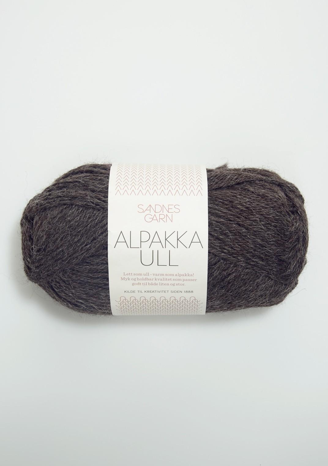 Alpakka ull, Sandnes Garn