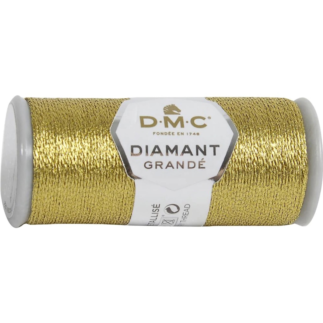 DMC Diamant Grandé 20m G3852 Soft Gold