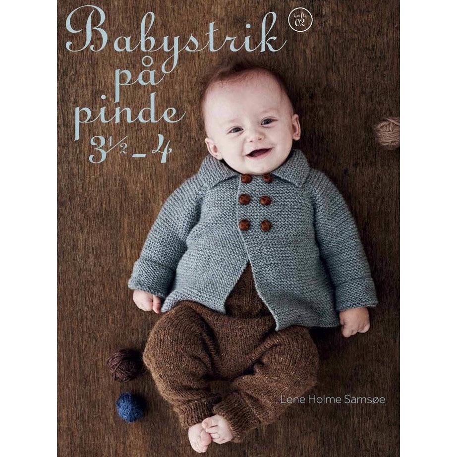 Babystrik på pinde 3,5-4 (Norsk)
