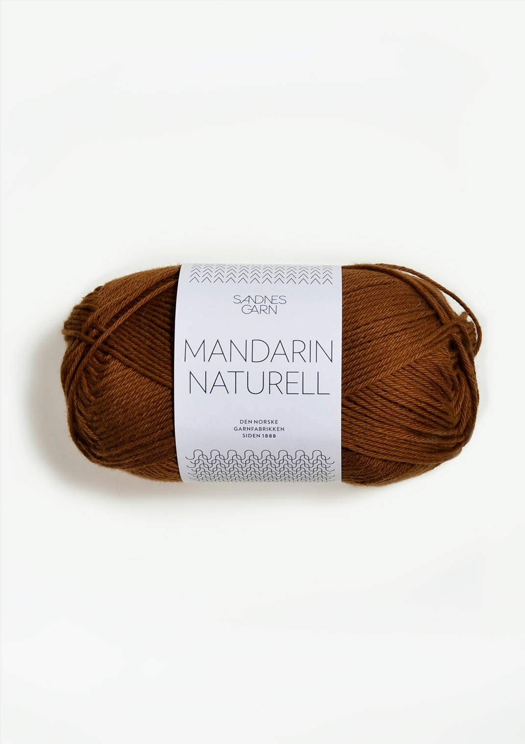 Mandarin Naturell, Sandnes Garn