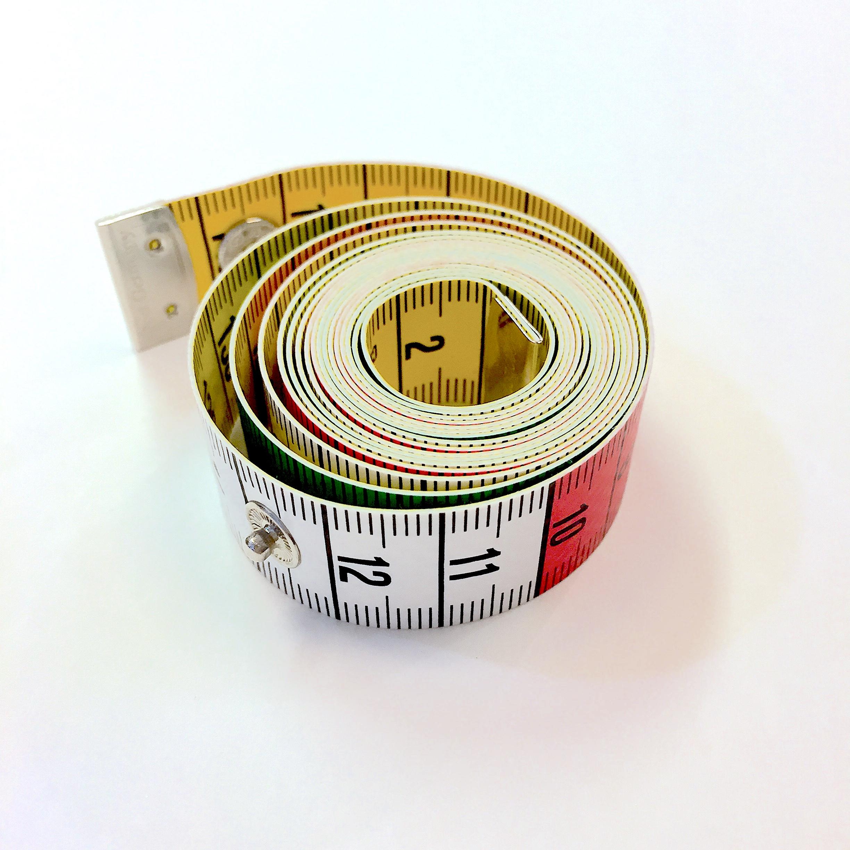 Måttband med tryckknapp 150 cm