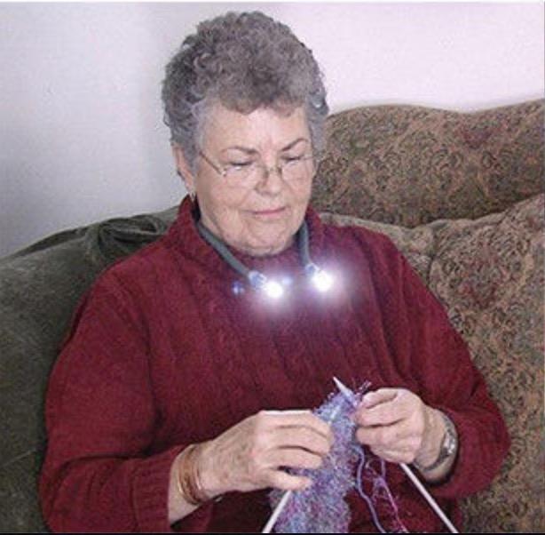 Nacklampa LED