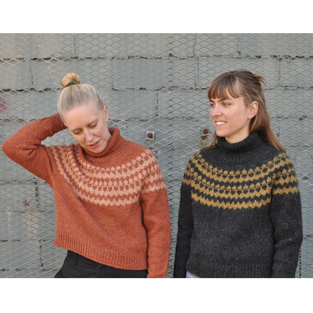Marketta Sweater by The Weststrand Sisters