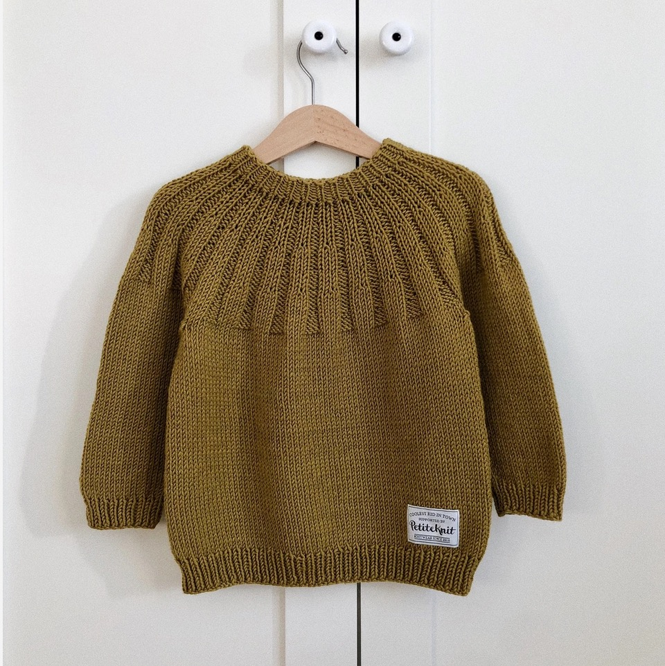Haralds Sweater (Norsk), PetiteKnit