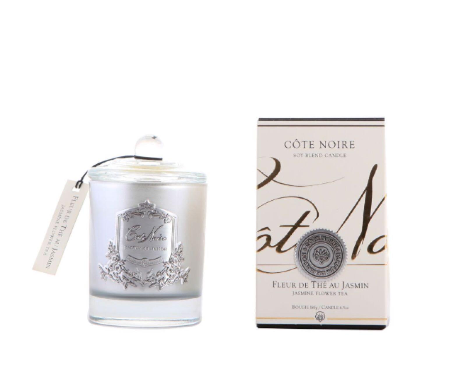 Cote Noire jasmine flower tea 75g candle