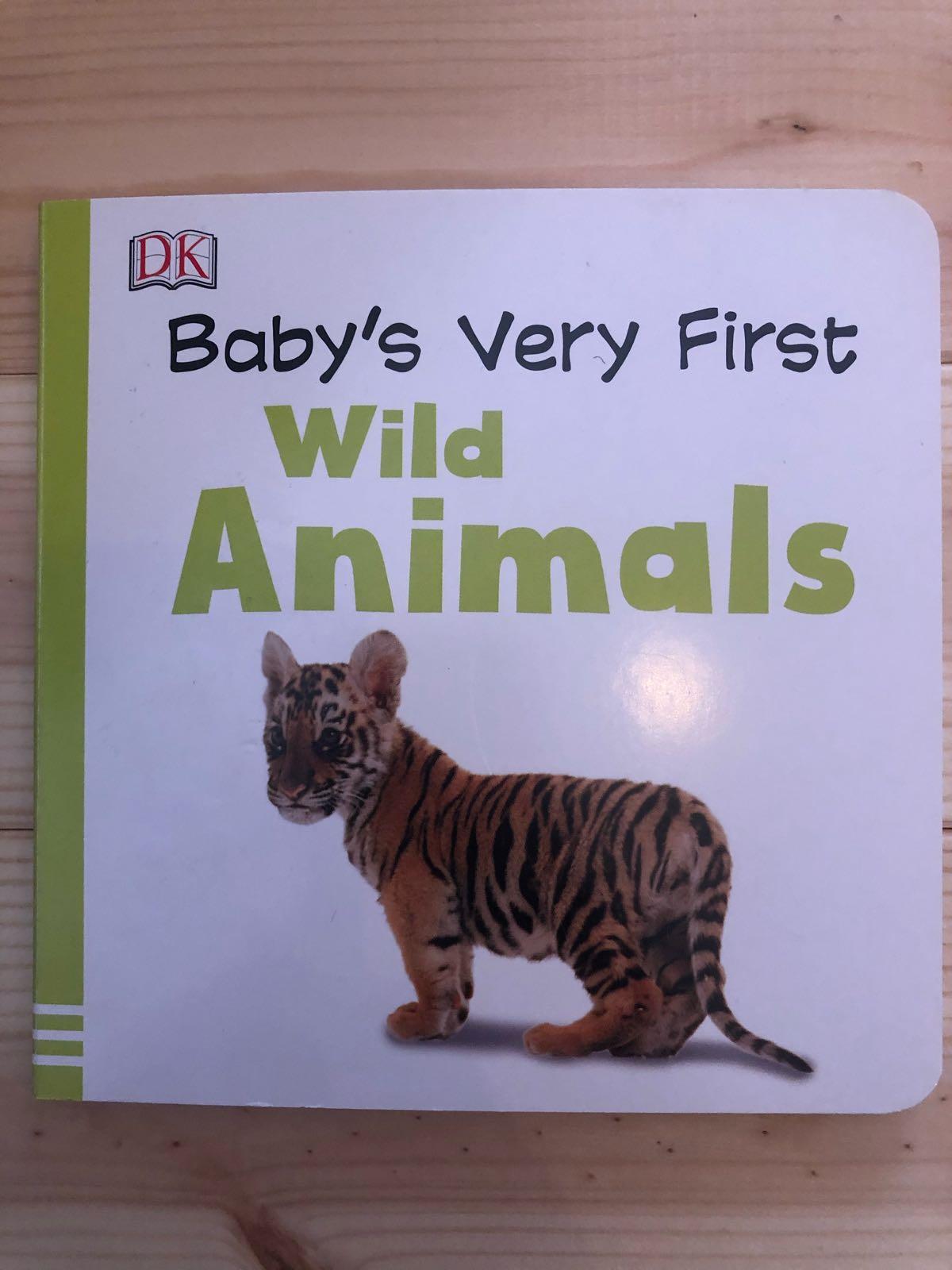Baby's very first wild animals