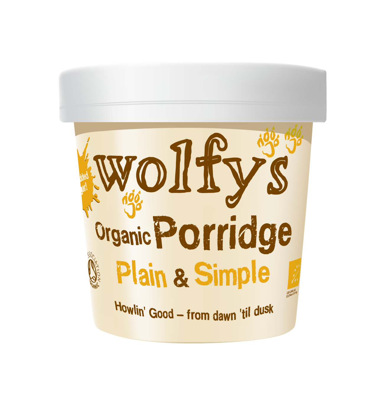 Wolfy's Organic Porridge Plain & Simple