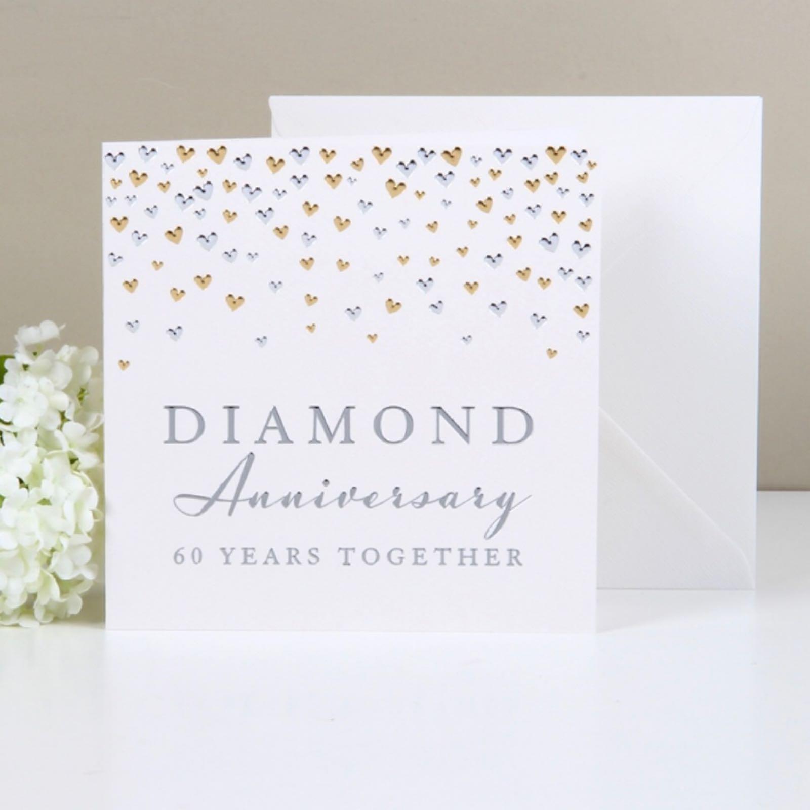 'Diamond Anniversary' Amoré Card