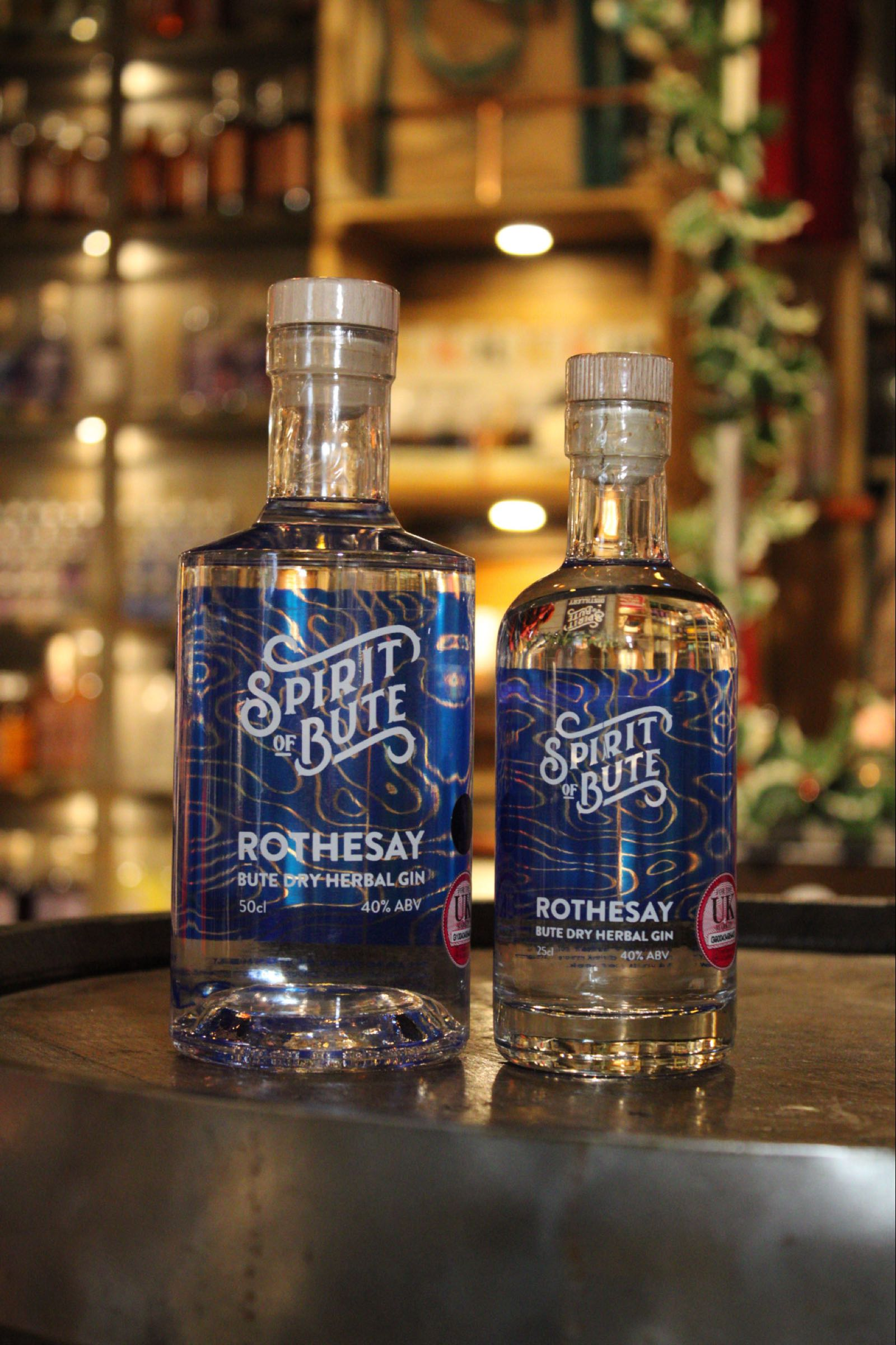 Spirit of Bute Rothesay Dry Gin 40%