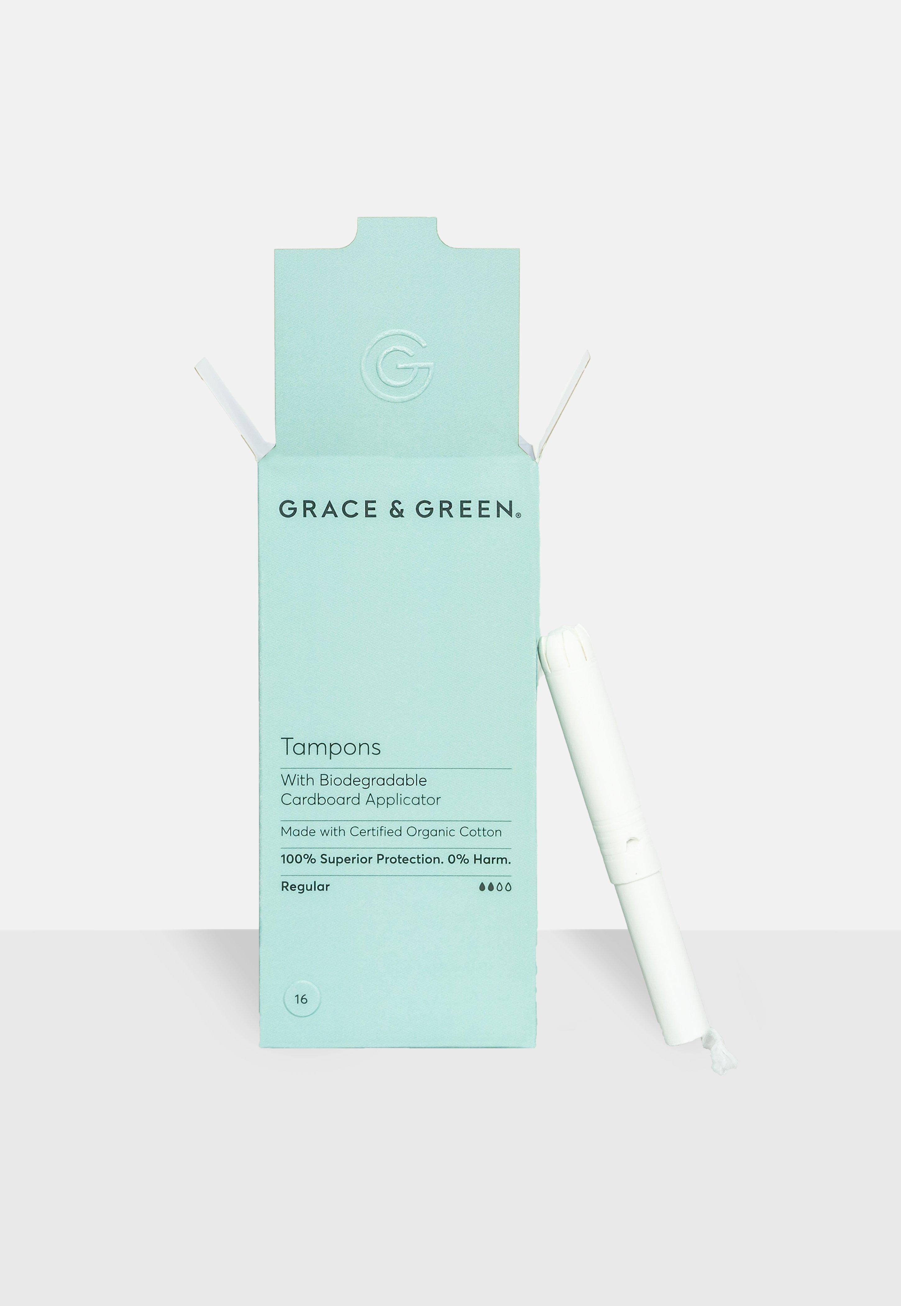 Grace & Green Regular Tampons