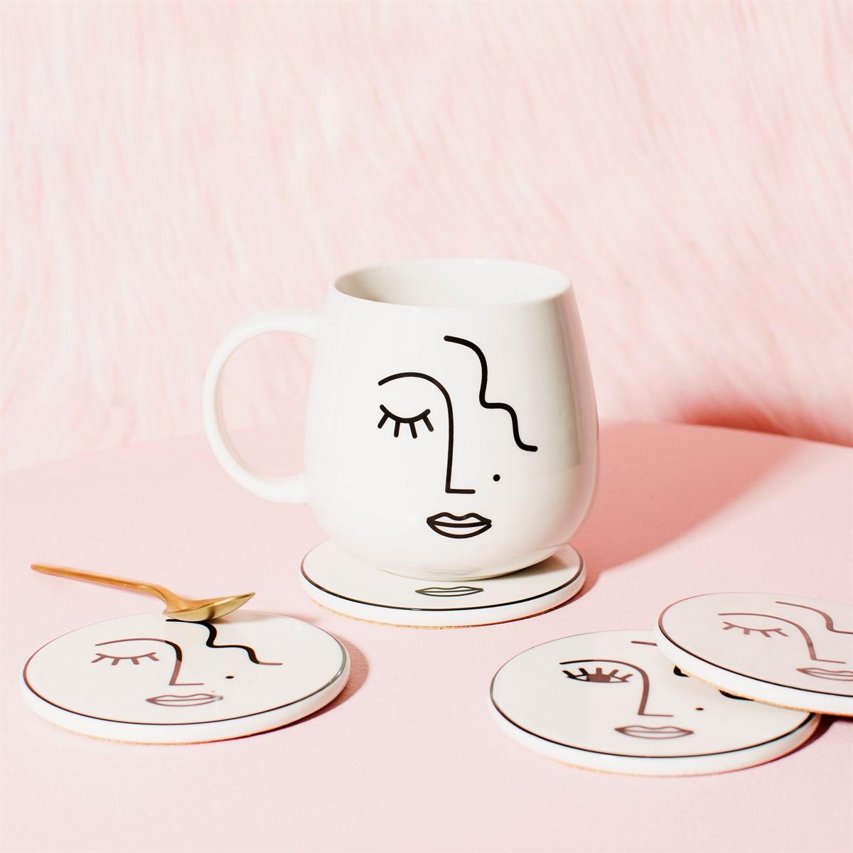 Abstract Face Mug
