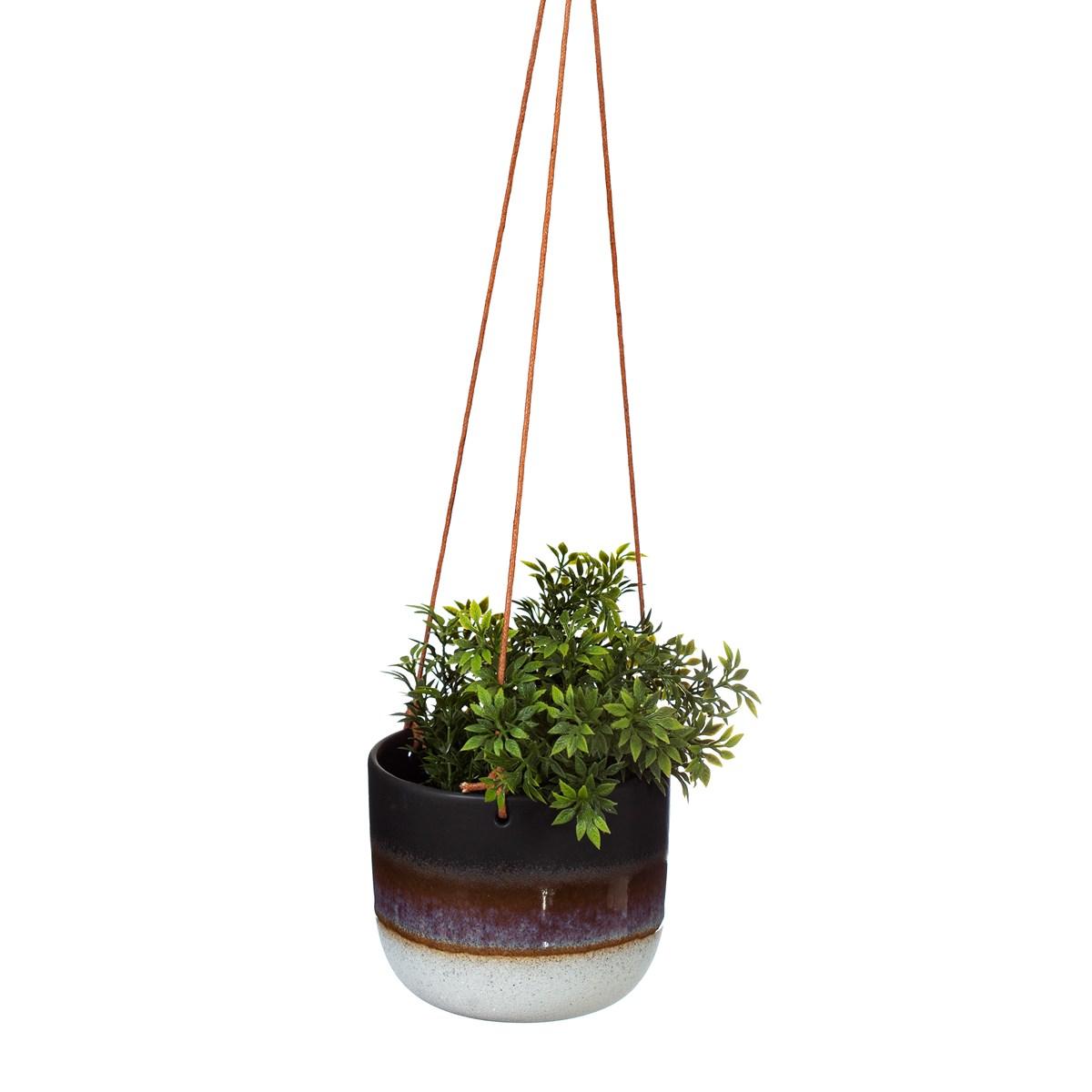 Hanging Planter - Black