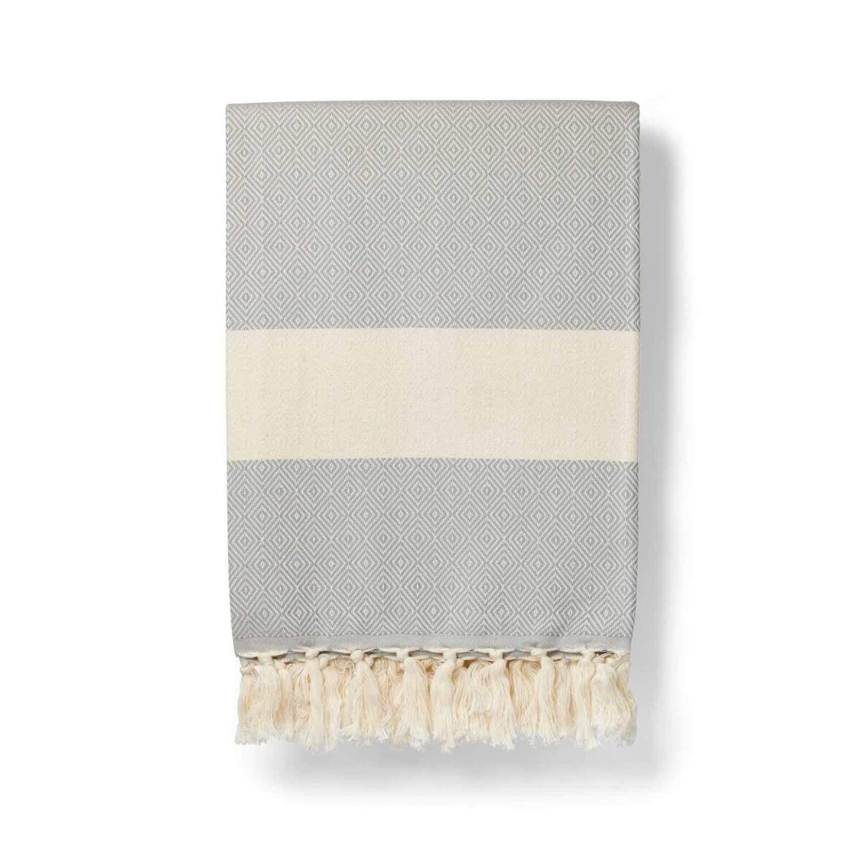 Bath Towel 'Damla' Grey