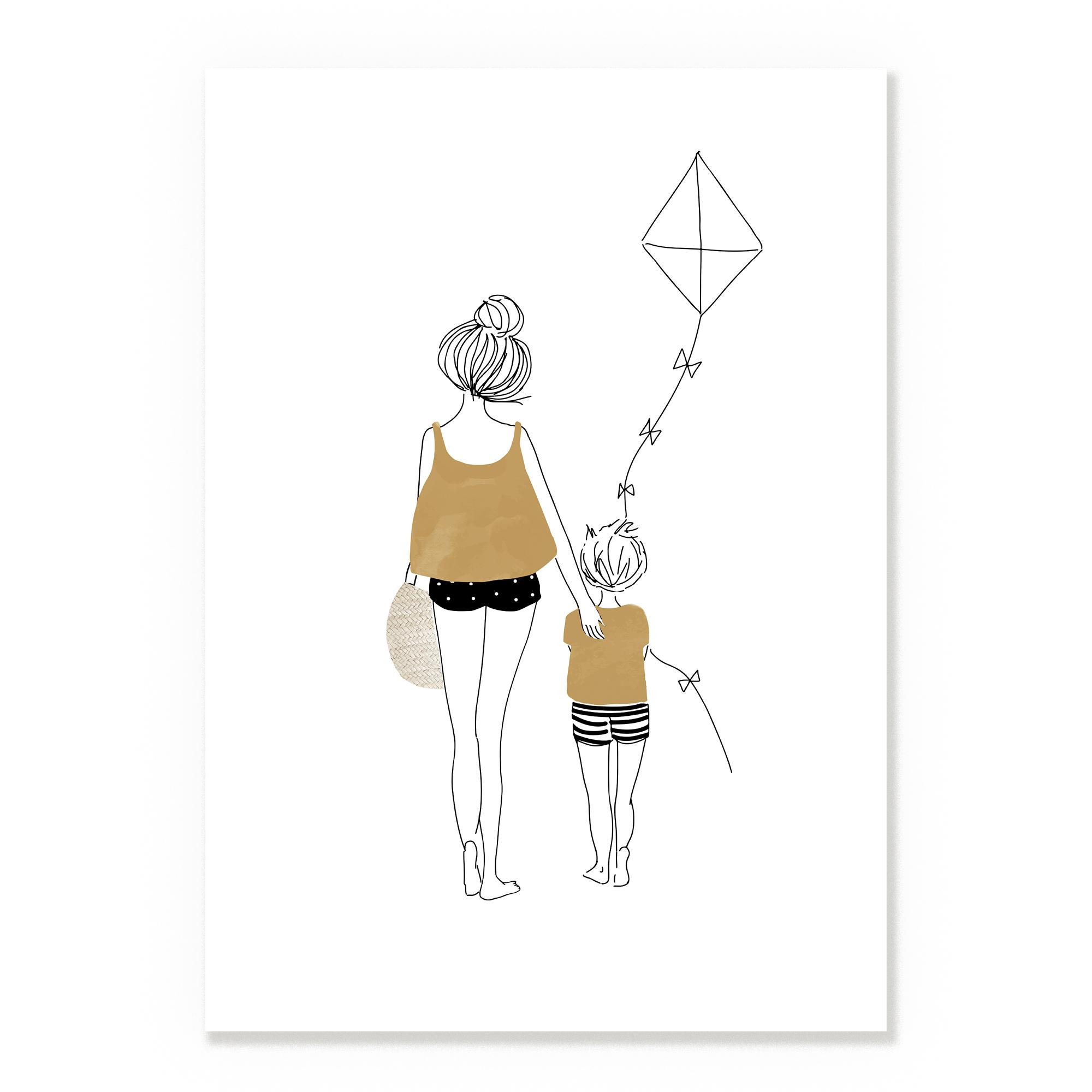 Kite A3 Print