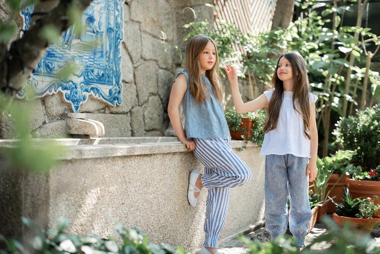 Jasmine Stripe Trousers