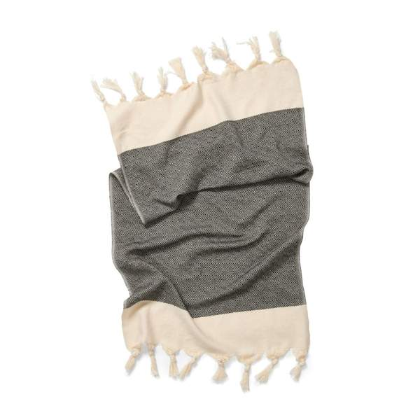 Hand Towel - 'Damla' Black