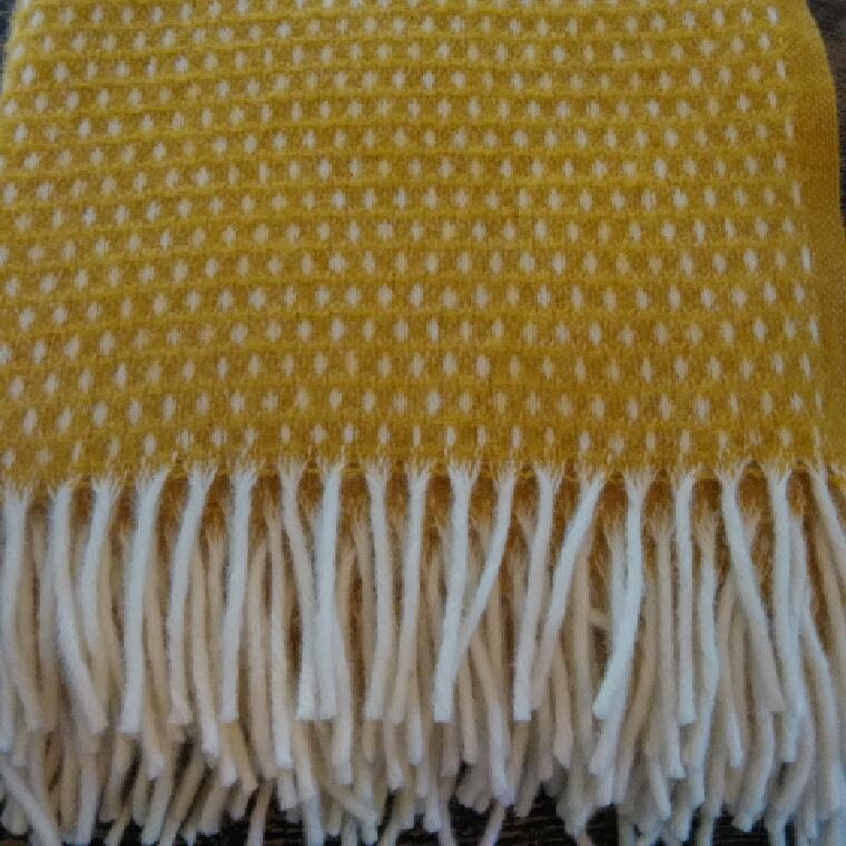 """decke """"knut"""", 100% lammwolle, 130 x 200 cm, klippan yllefabrik"""