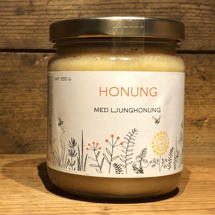 Honung med ljunghonung 500g, utförsäljning