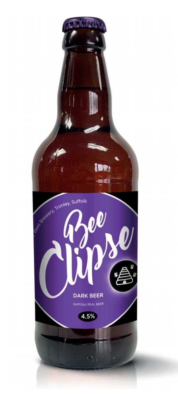 BeeClipse 4.5% Dark Beer x 12 bottles