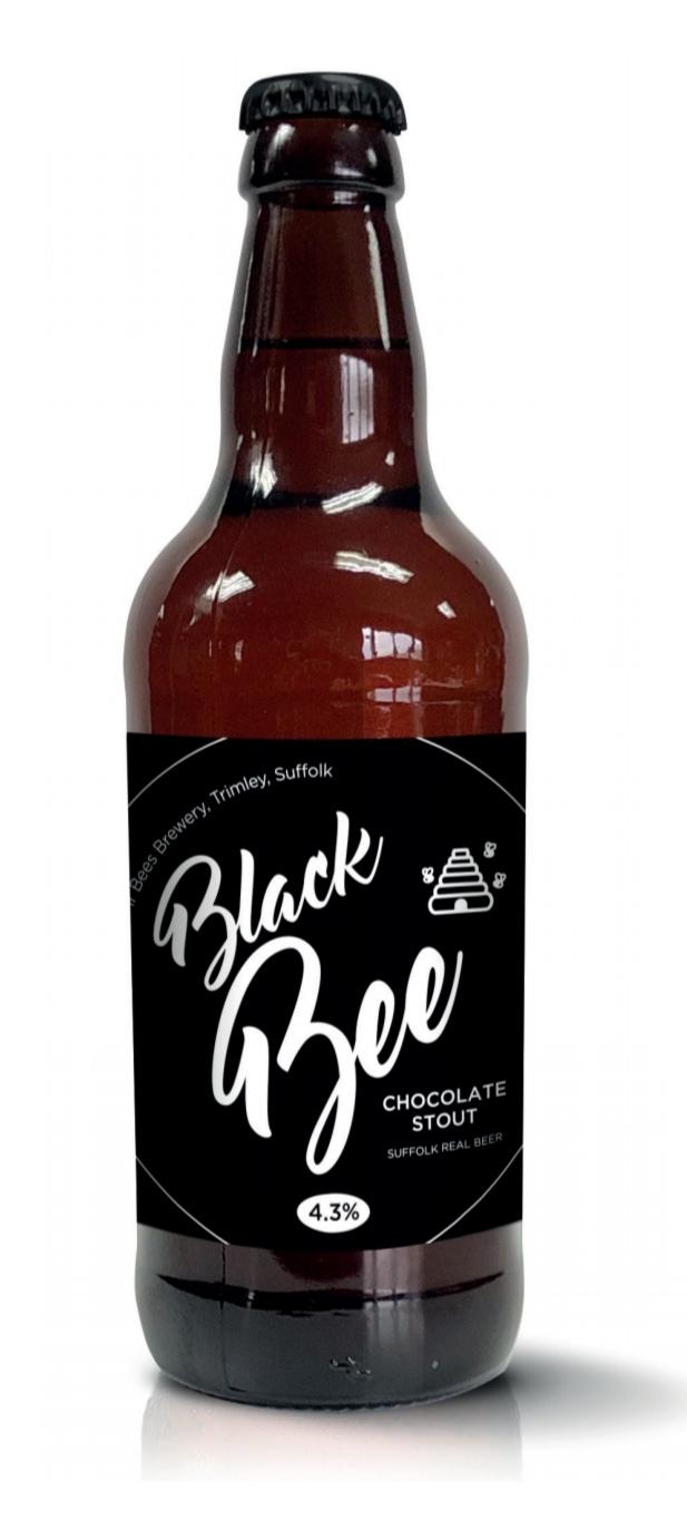 Black Bee Chocolate Stout 4.3% x 12 bottles