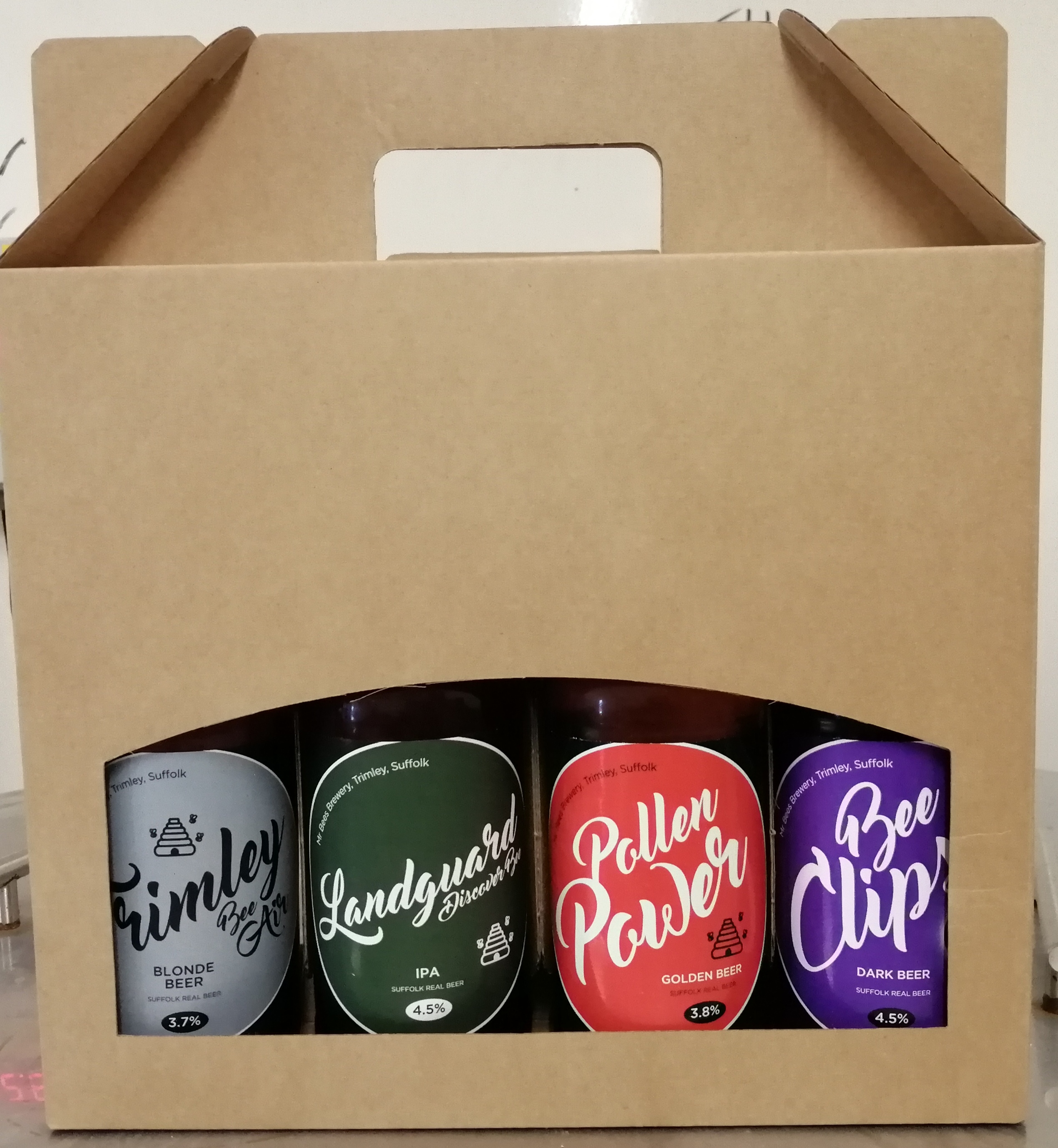 Gift Pack of 4 Beers