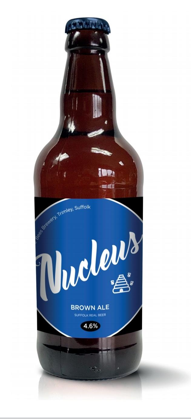 Nucleus Brown Ale 4.6% x 12 bottles