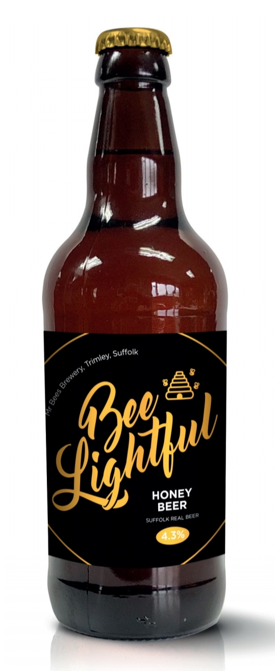 Beelightful Honey Beer 4,3% x 12 bottles