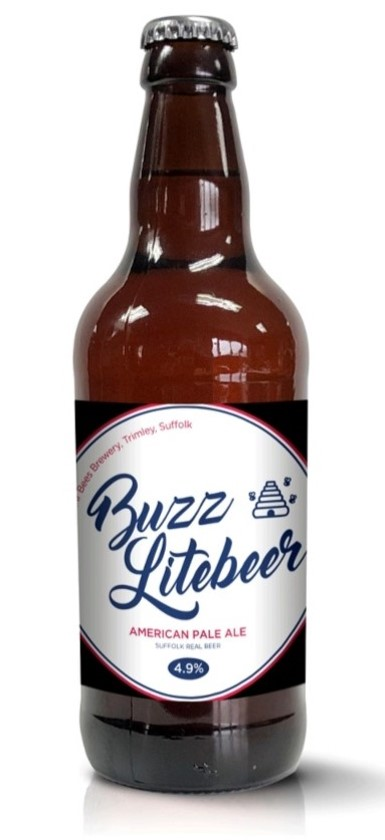 Buzz Lite Beer 4.9% American Pale Ale x 12 bottles