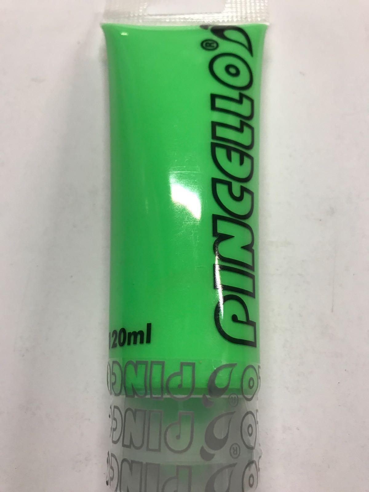 Akrylfärg - neongrön 120 ml