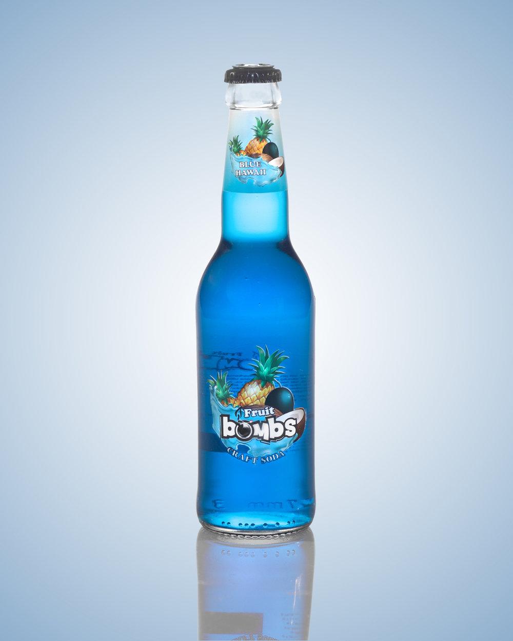 10001 BLUE HAWAII 33 cl