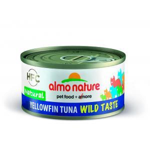 Almo Nature HFC Wild Taste Natural keltaevätonnikala 70g