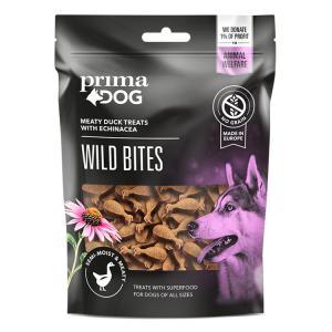 PrimaDog Wild Bites Ankka ja auringonhattu, 150g