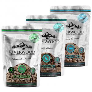 Riverwood Puolikosteat viljattomat makupalat, 200g