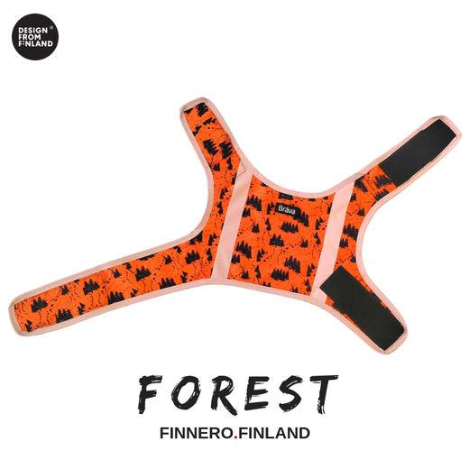 Finnero Brava Forest huomioliivi