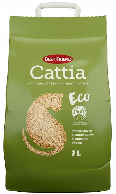 BestFriend Cattia Eco puukuituhiekka 7l