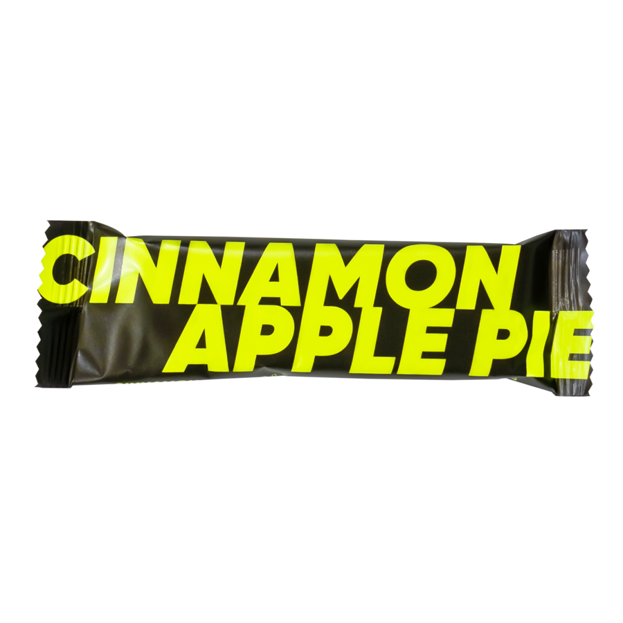 VEGAN ENERGY BAR by VeganHey™ - CINNAMON APPLE PIE, 55G