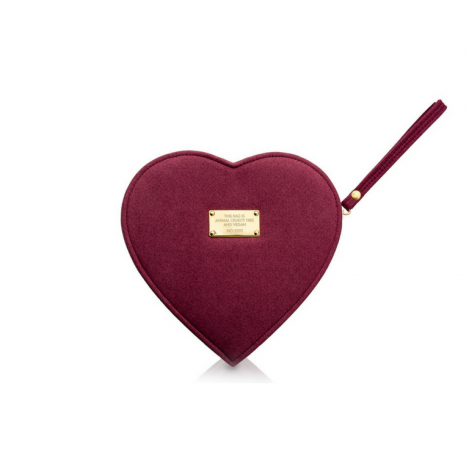 LOVE & PASSION BURGUNDY HEART