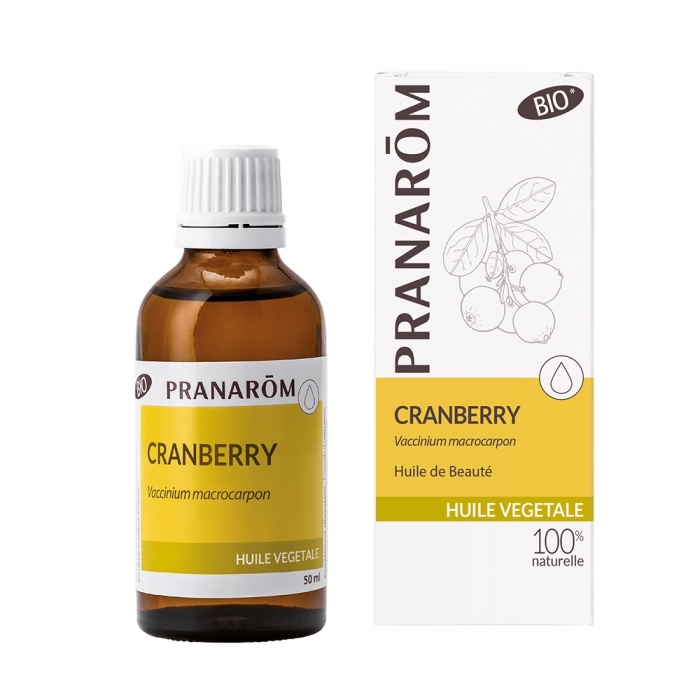 Pranarôm Cranberry vegetable oil (Vaccinium macrocarpon) 50 ml 4536