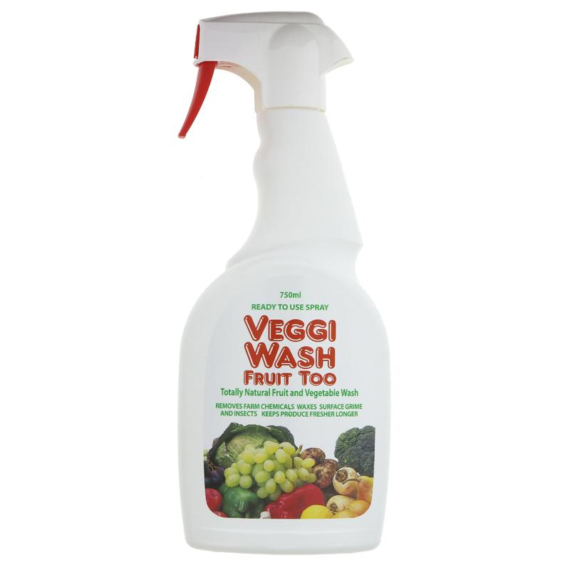 Veggi Wash Fruit Too Veggi Wash Ready To Use Spray 750ml