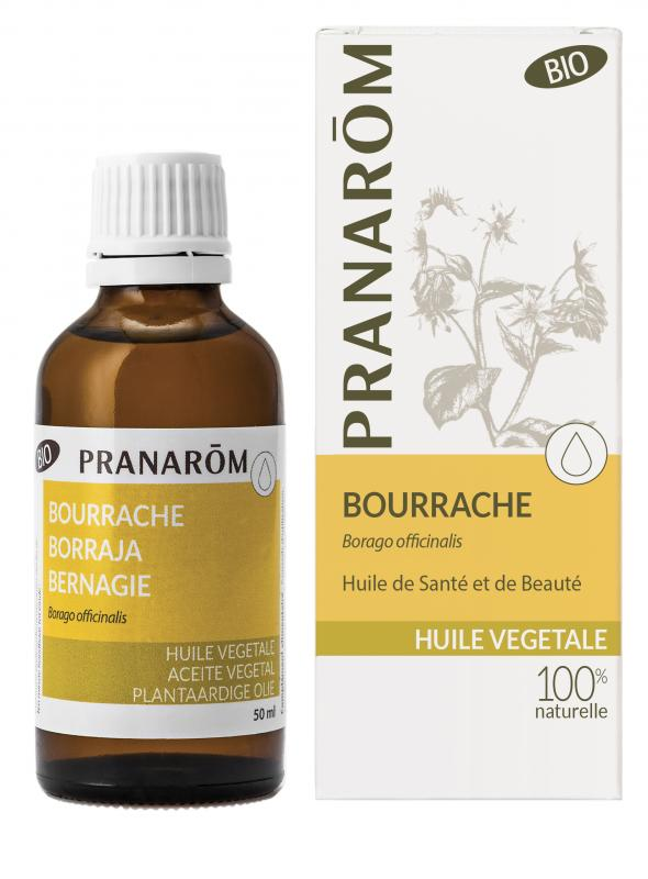 Pranarôm Borage 50% rabatt. kort datum.  vegetable Oil (Borago officinalis) 50 ml ord. Pris 189kr. 4536