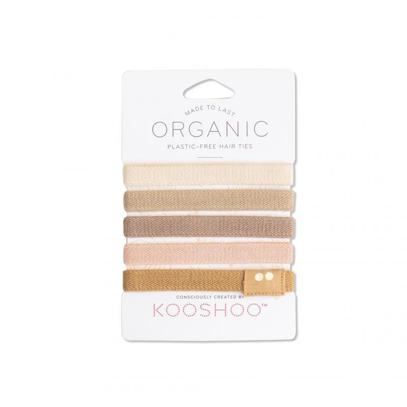 KOOSHOO Organic Hair Ties - Blond 4536
