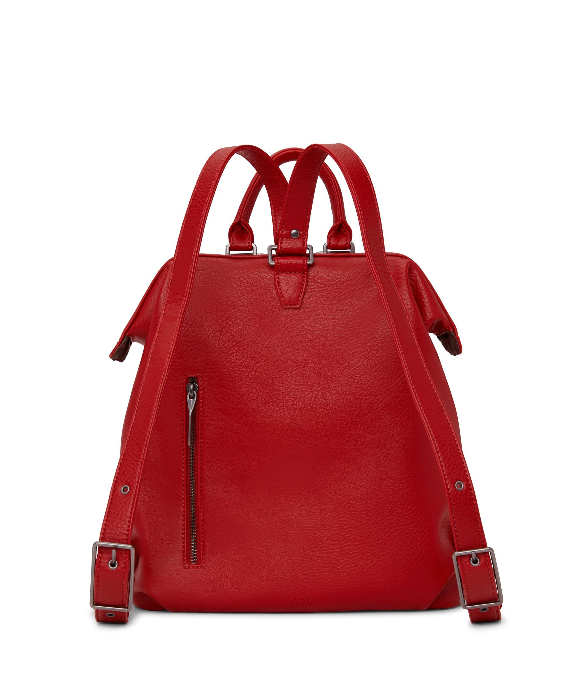 Matt & Natt Vignelli Backpack red 4536