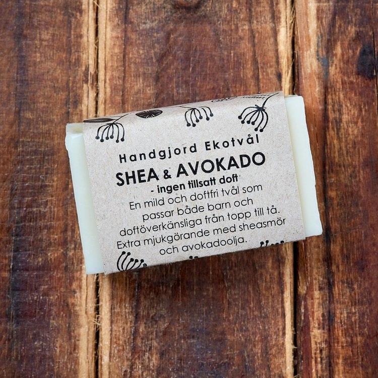 Ekotvål Shea & avokado - ingen tillsatt doft