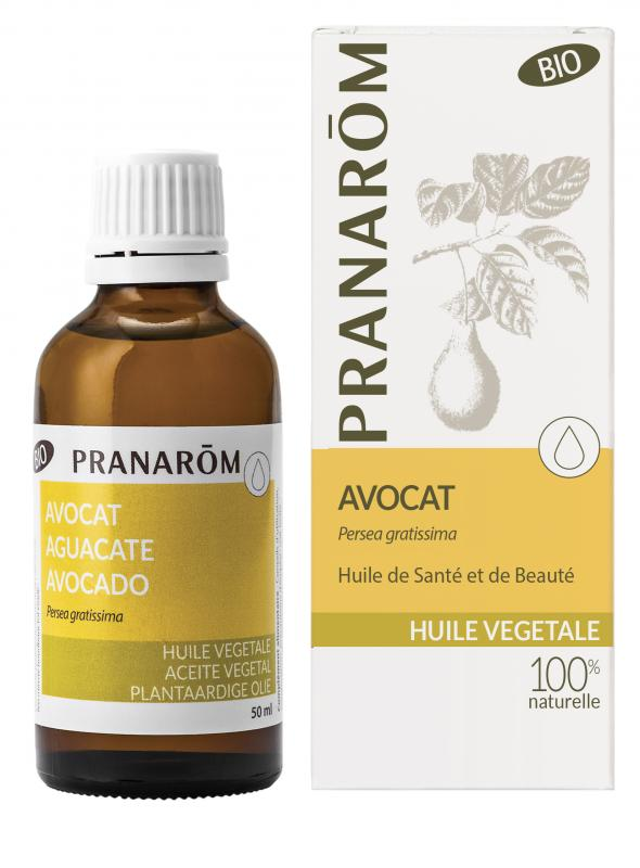 Pranarôm Avocado vegetable Oil (Persea gratissima) 50 ml 4536